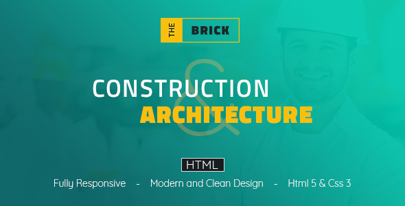 The Brick Architechture & Construction – HTML Template
