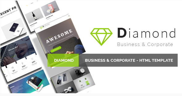 Diamond – Business & Corporate – HTML Template